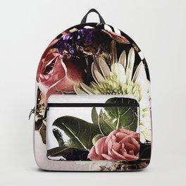 Flower Arrangement Backpack