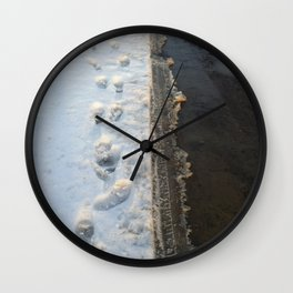 winter is gone? Wall Clock