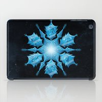 snowflake iPad Cases featuring Snowflake by Salih Gonenli