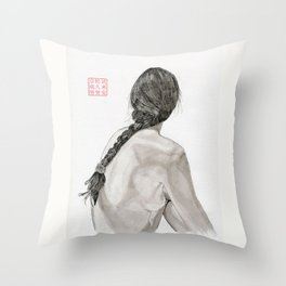 The Plait Throw Pillow
