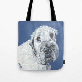 Kahly a sweet Wheaton Terrier Tote Bag