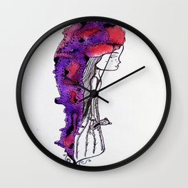 Sleep-Walking Wall Clock