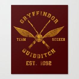 Abercrombie & Quidditch Canvas Print