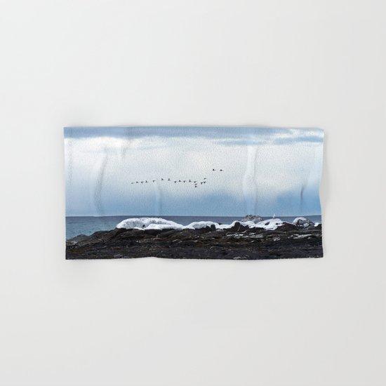Winter Flight Hand & Bath Towel