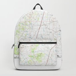 UT Grouse Creek 249650 1987 topographic map Backpack