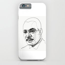 Martin L. King Jr. iPhone Case