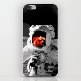 Staring at the Brilliant Truth iPhone Skin