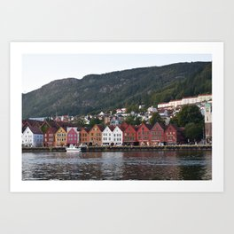 Bergen, Norway Art Print
