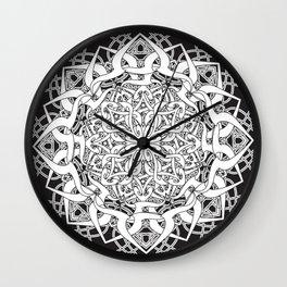 Kali Mandala 2 Wall Clock