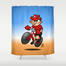 MTB Shower Curtain