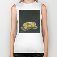 teeth Biker Tanks featuring Teeth by Tallie Raye