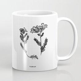 Tansy Botanical Coffee Mug