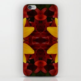 """""""A Gathering of Lilies"""" Remix - 2 (1-1) [D4466~24] iPhone Skin"""