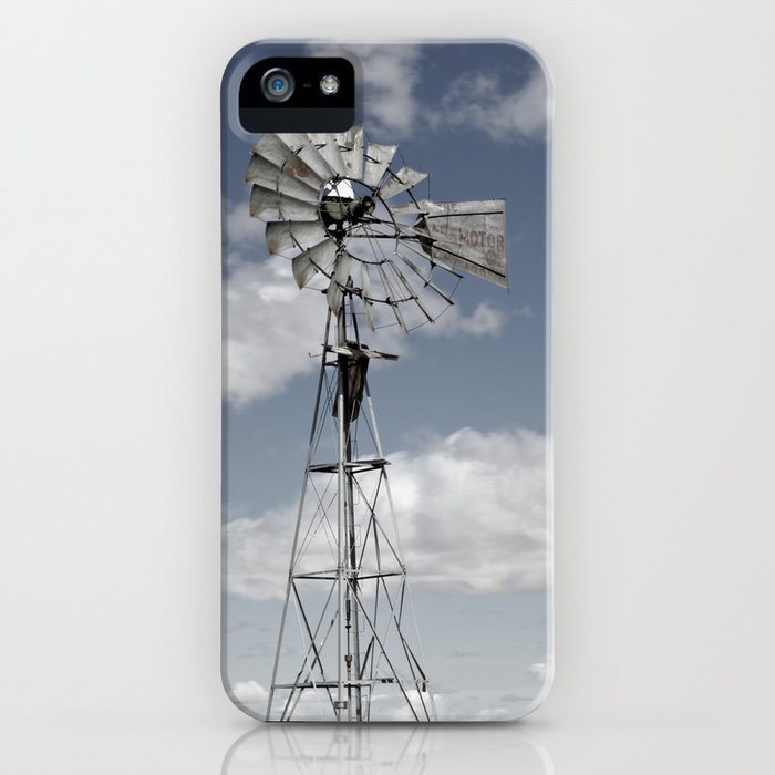VINTAGE WINDMILL iPhone Case