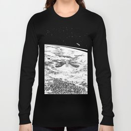 Space upon us Long Sleeve T-shirt