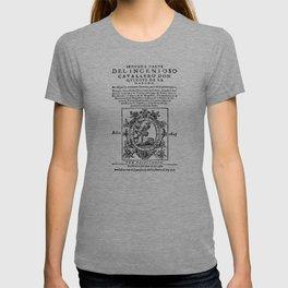 Don Quixote design: Miguel de Cervantes - Fine Art Gifts T-shirt