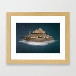 Sailing on a dream Framed Art Print