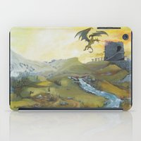 skyrim iPad Cases featuring Skyrim by mixedlies