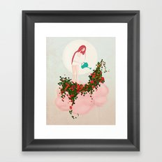 ...so this is why it rains! Framed Art Print
