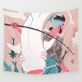 Sir Fish Wall Tapestry