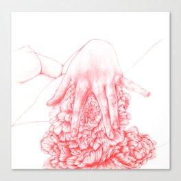 Damsel in Distress, No 1 Canvas Print