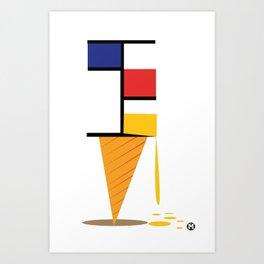 Ice-cream museum Art Print