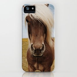 Icelandic Horse #4 iPhone Case