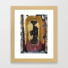 Lady of the Bathtub Framed Art Print
