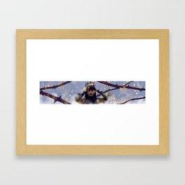 Rihanna_Crown of Thorns Framed Art Print