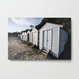 Beach Box Beauties Metal Print