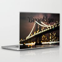 brooklyn Laptop & iPad Skins featuring Brooklyn by Isabel Lee Art