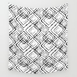 Black and white. Wall Tapestry