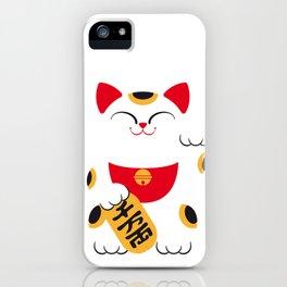 Japan Serie 4 - MANEKI NEKO iPhone Case