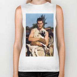 Tom Brady The Goat (HD) Biker Tank