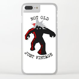 Vintage Punk Clear iPhone Case