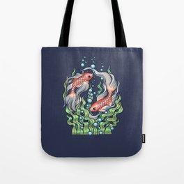 Golden Fish 3 Tote Bag