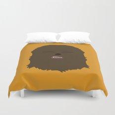Star Wars Minimalism - Chewbacca Duvet Cover