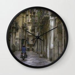 Old City Lane Wall Clock