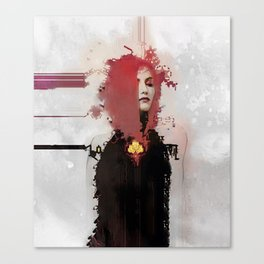 With regards; elaboration Canvas Print