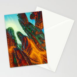 Flame Cactus Stationery Cards