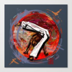 Capoeira 545 Canvas Print