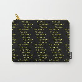 Motto of belize 2 -black and golden version -  -Sub umbra floreo. Carry-All Pouch