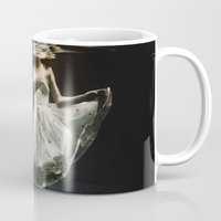 michael jordan Mugs featuring abyss of the disheartened : IV by Heather Landis