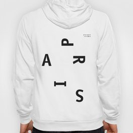 Paris / Poster, City, Place, Metropolis, Geography, France, Europe, City Poster, Map, Art Print Hoody