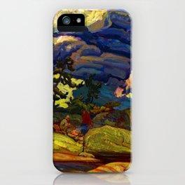 J.E.H. MacDonald The Elements iPhone Case
