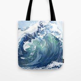Kai's Wave Tote Bag