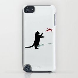 Cat and X-Wing iPhone Case