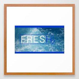 fresh h2 Framed Art Print