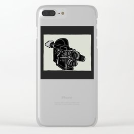 16mm Camera Clear iPhone Case