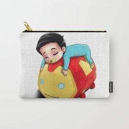 Baby Alden and His TSUMTSUM Carry-All Pouch